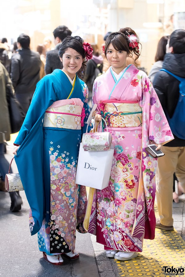 Coming of Age Day Kimono in Japan (109)