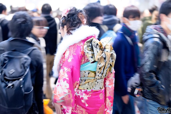 Coming of Age Day Kimono in Japan (112)