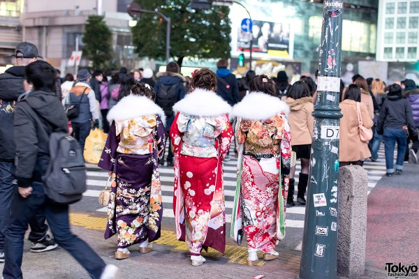 Coming of Age Day Kimono in Japan (113)