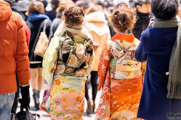 Coming of Age Day Kimono in Japan (117)