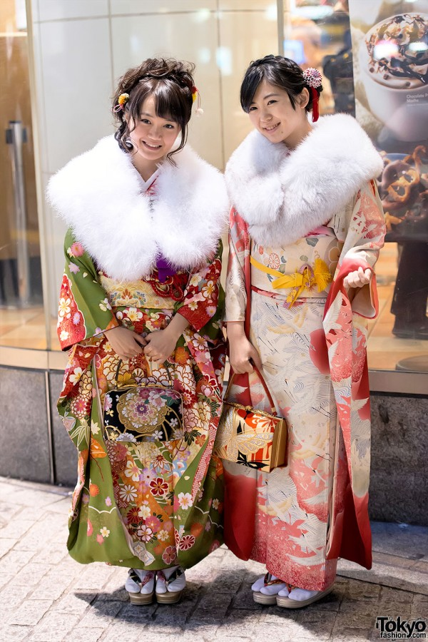 Coming of Age Day Kimono in Japan (120)