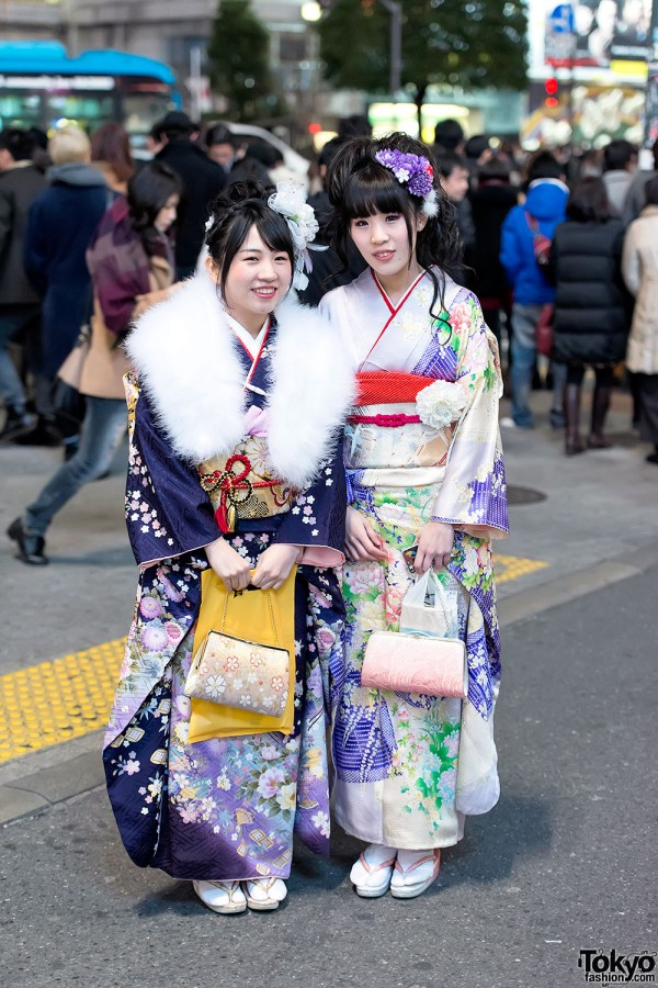 Coming of Age Day Kimono in Japan (122)