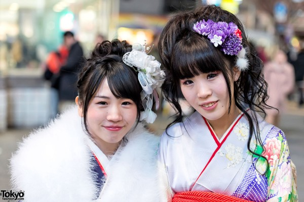 Coming of Age Day Kimono in Japan (123)