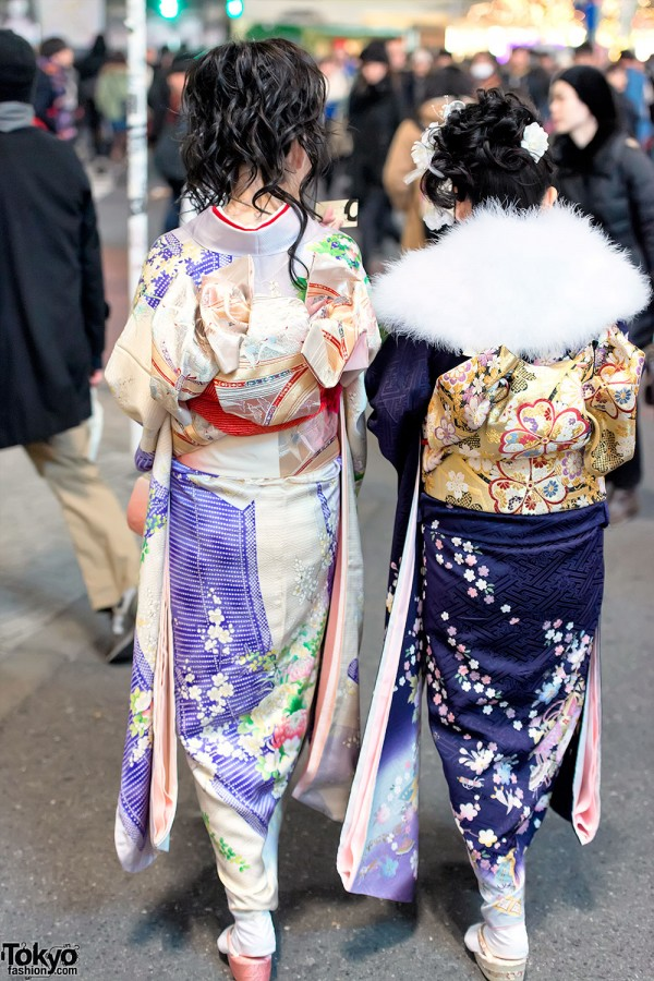 Coming of Age Day Kimono in Japan (124)