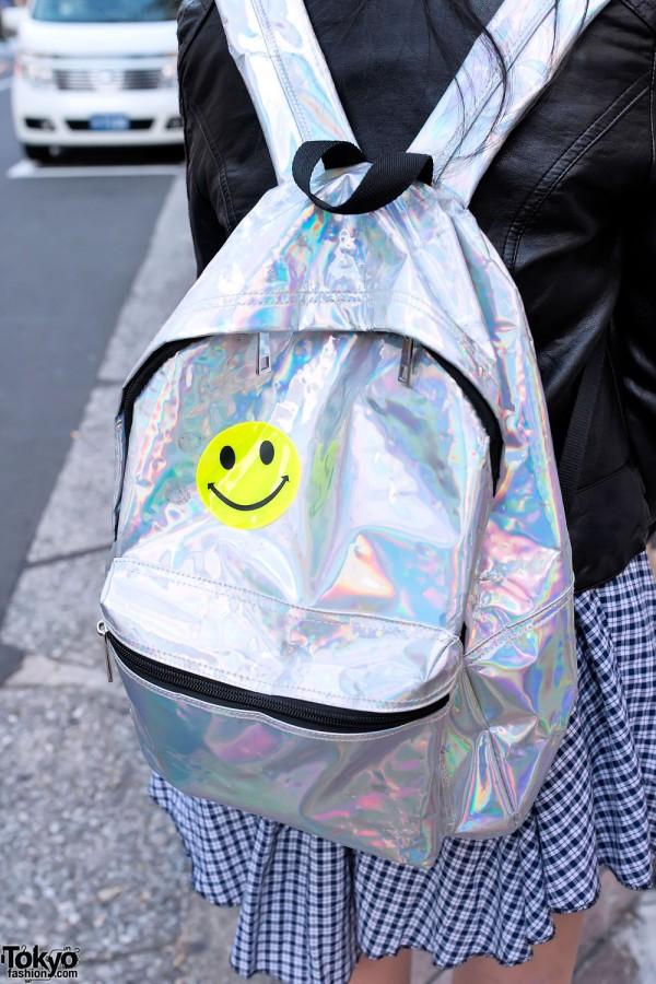 Metallic Backpack, Tokyo