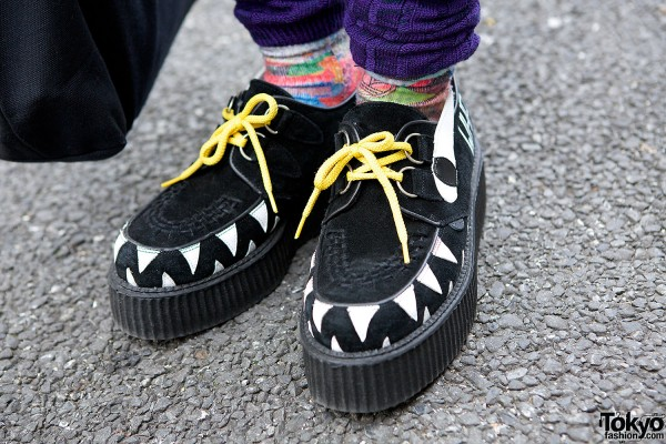 Underground X Daniel Palillo Creepers With Teeth