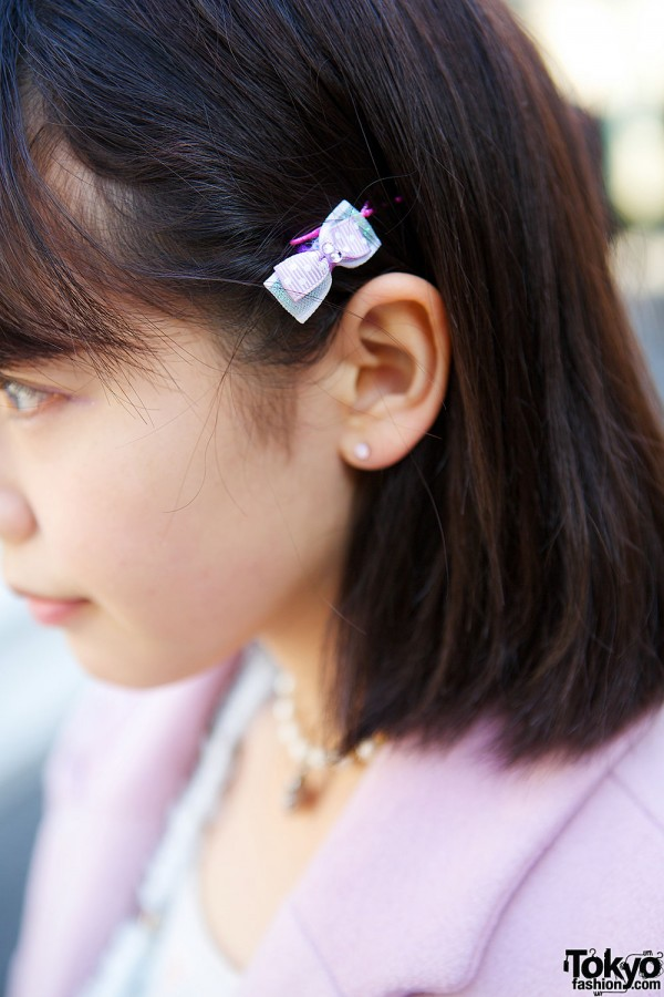 Handmade Bow Pin