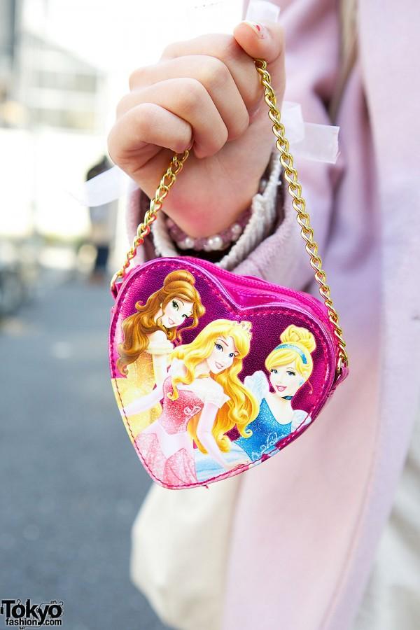 Disney Princess Heart Bag