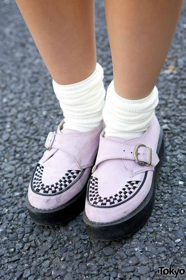 Pink Buckle Creepers