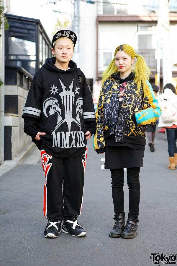Harajuku Streetwear Looks w/ Jeremy Scott, Ambush, KTZ & Yellow Hair