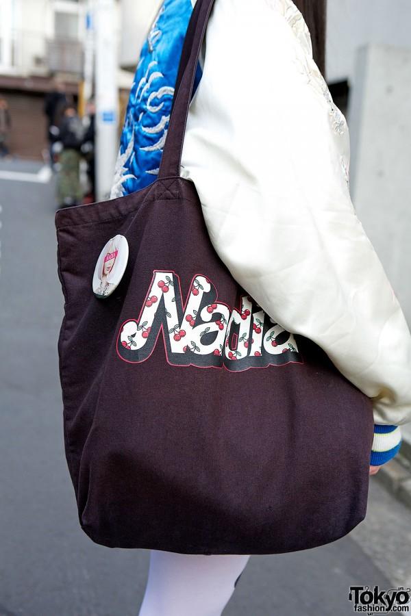 Nadia Harajuku Tote Bag