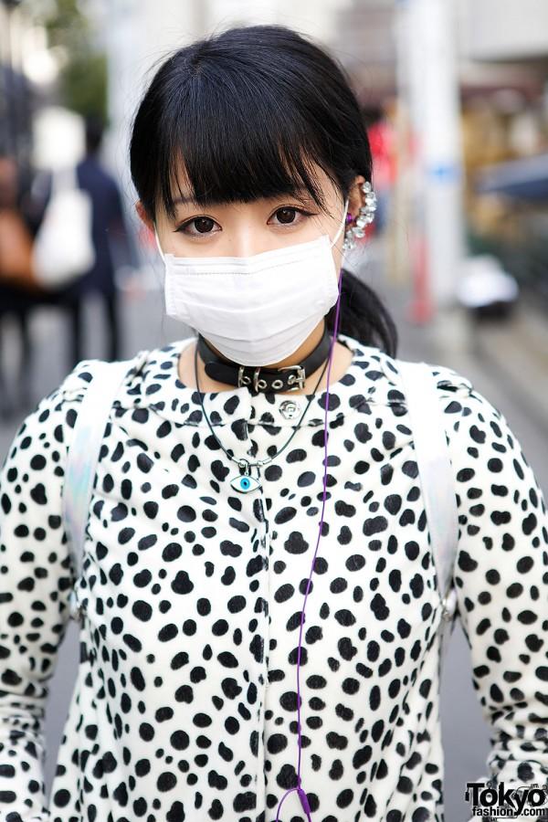 Bubbles Harajuku Eye Necklace