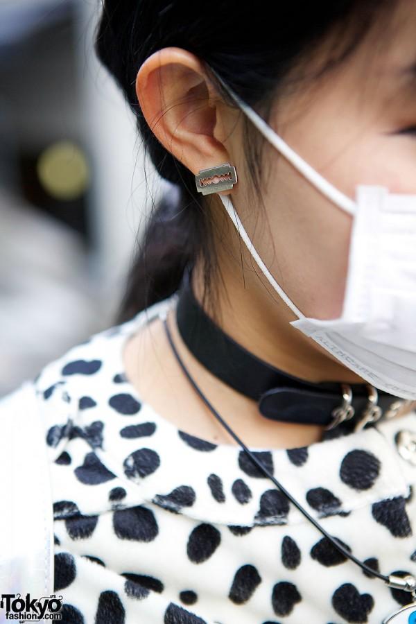 Razorblade Earring