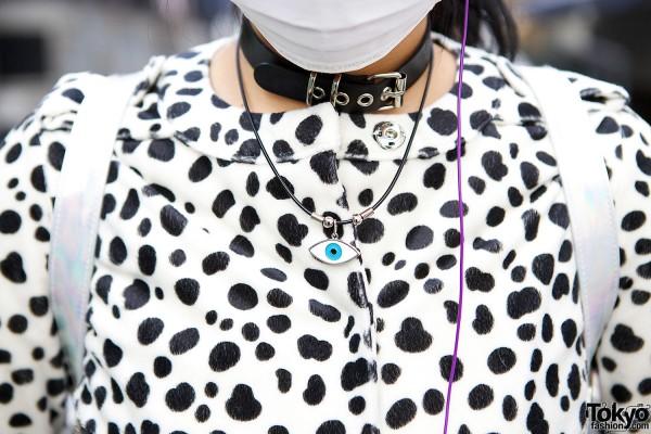 Dalmatian Print Coat