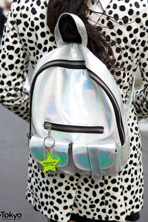 Metallic UNIF Backpack