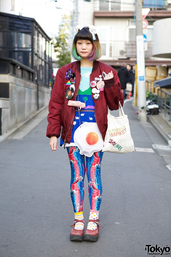 Labrat Sweater in Harajuku