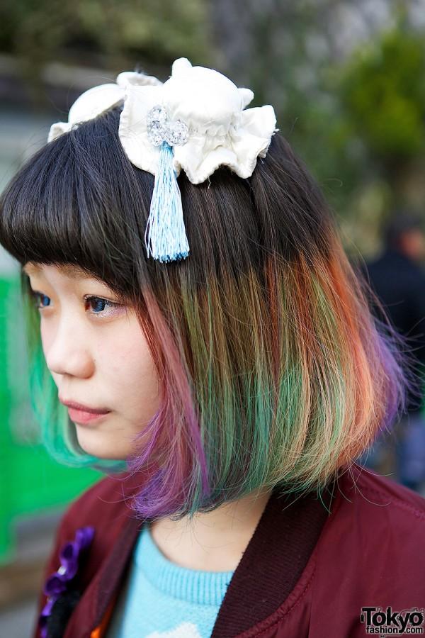 Rainbow Hair & Tassels
