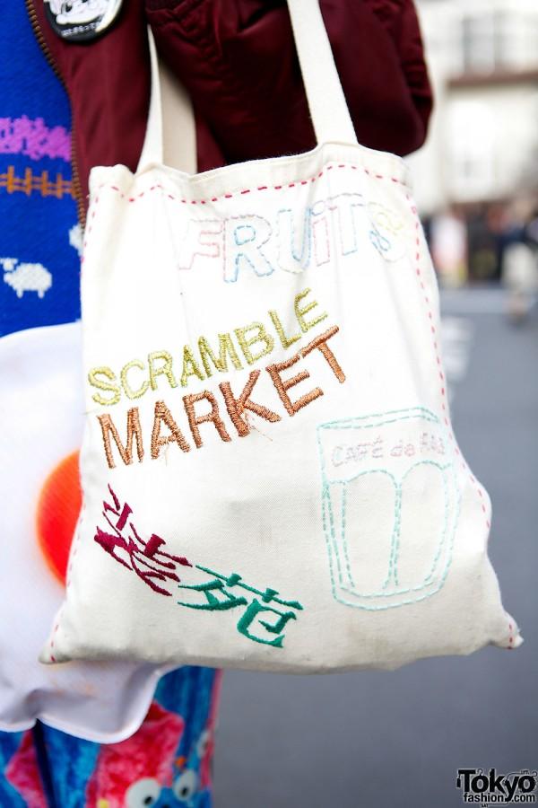Scramble Market Tote