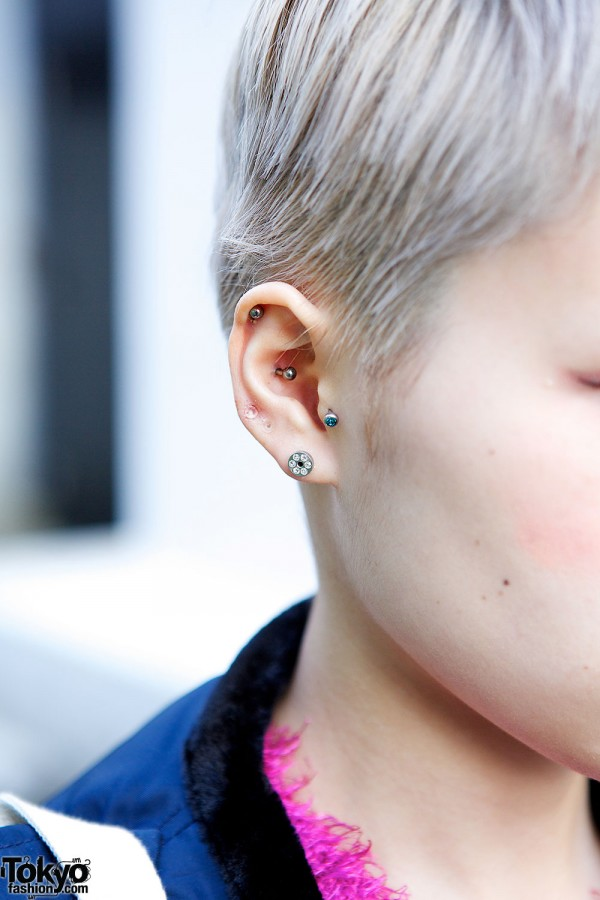 Piercings and earrings