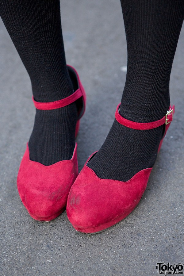 Pink Scallop Shoes