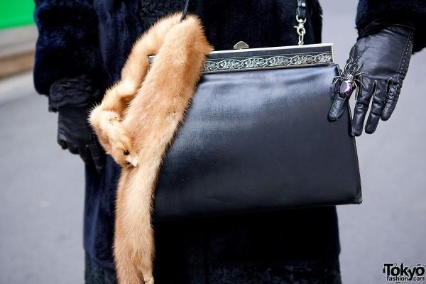 Antique Bag & Fur