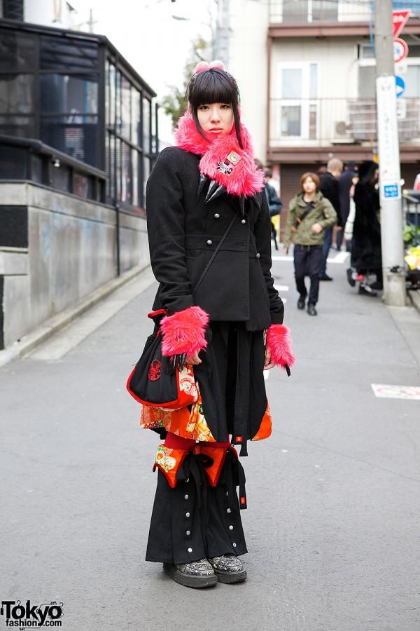Takuya Angel Fashion in Harajuku
