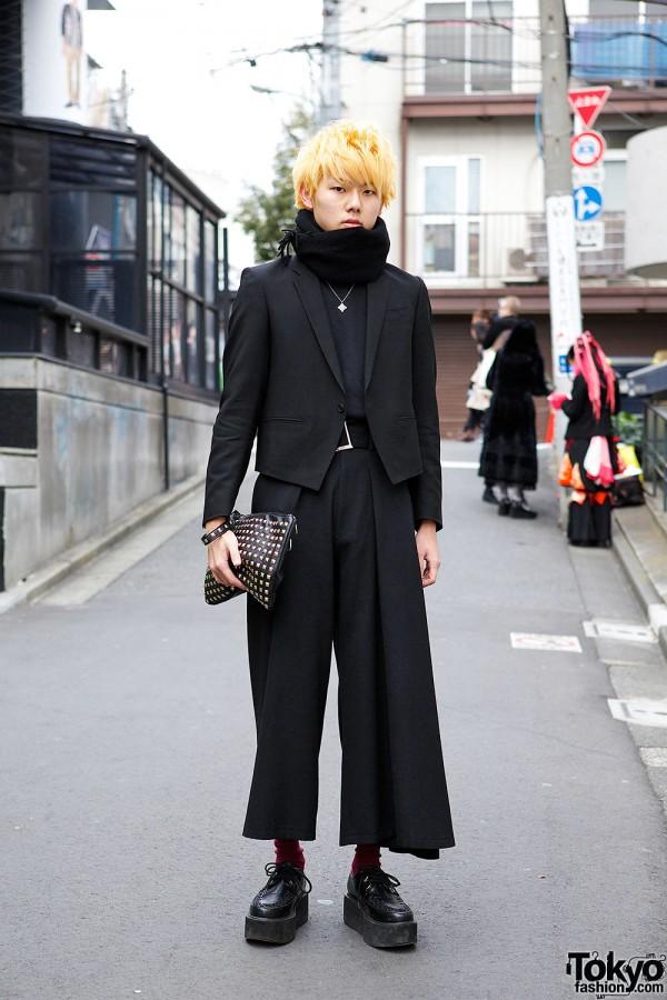 Yohji Yamamoto Cropped Pants