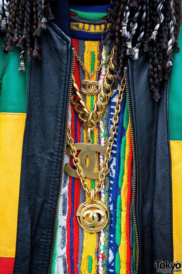 Michael Hoban Quot Africa Quot Jacket W Fendi Logo Pants Coogi