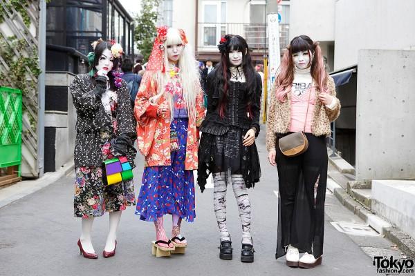 Harajuku Shironuri Girls