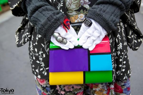 Colorblock Bag