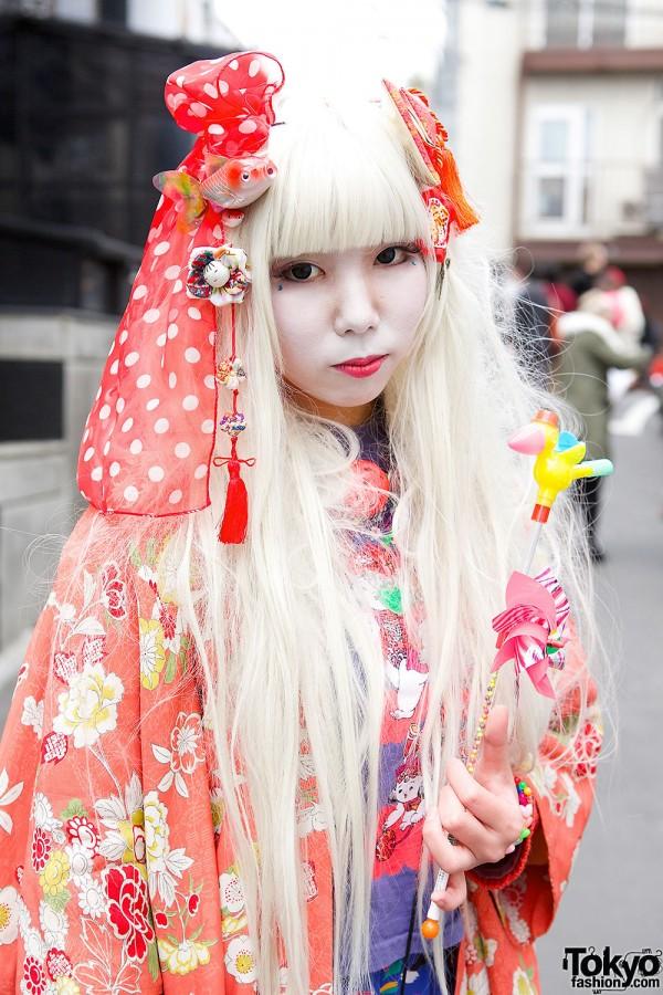 Harajuku Shironuri Girl