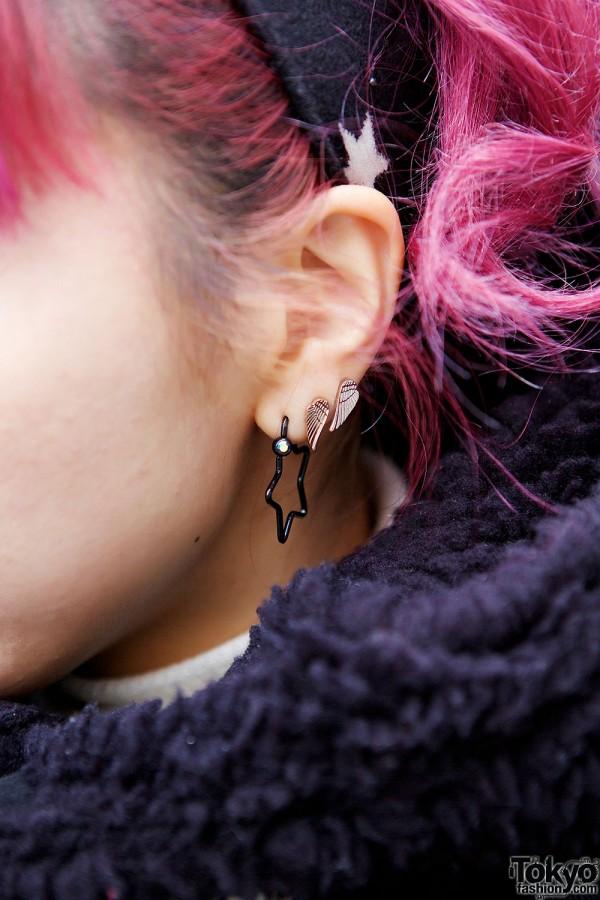 Star & Wings Earrings