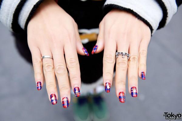 Vivienne Westwood Ring & Nail Art