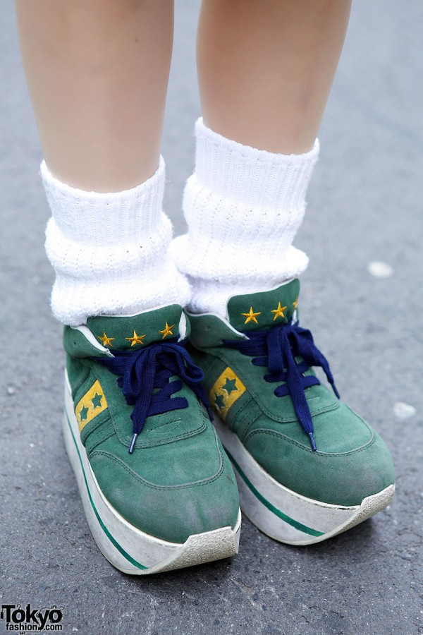 Candy Stripper Sneakers