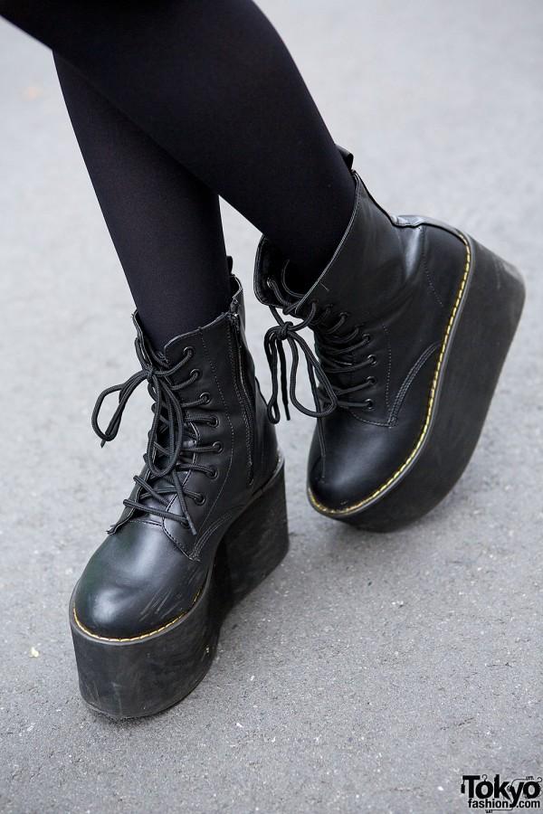Spinns Platform Boots
