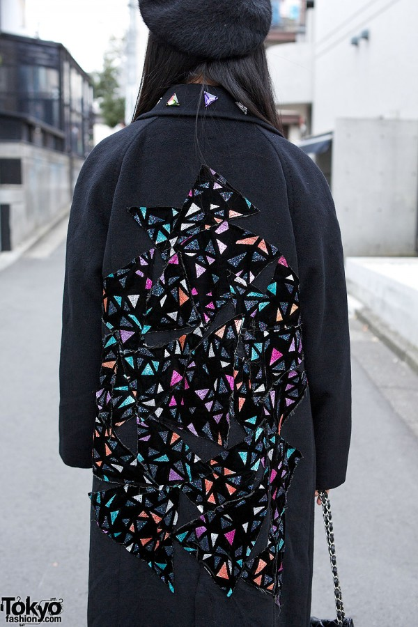 Coat With Stained Glass Pattern