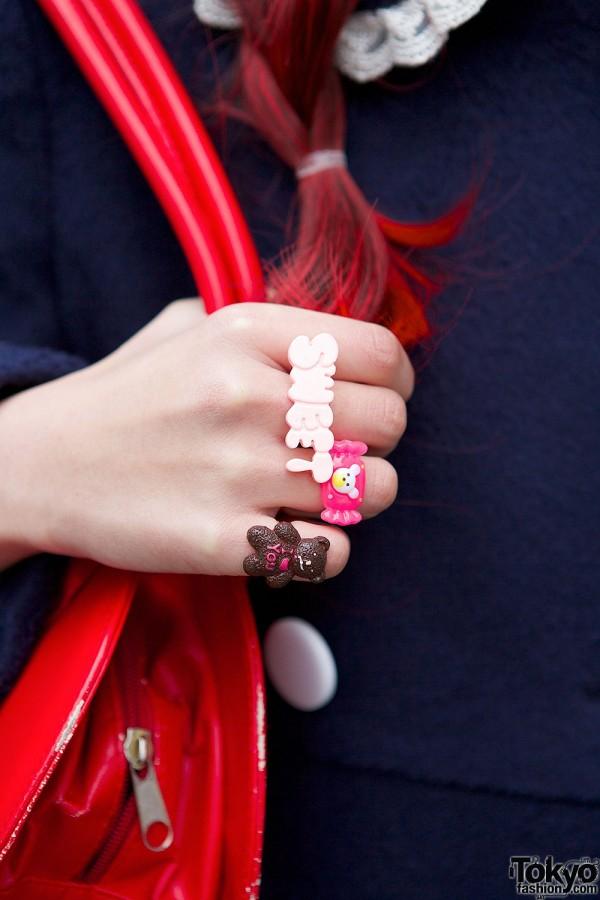 Cute Teddy Bear Ring