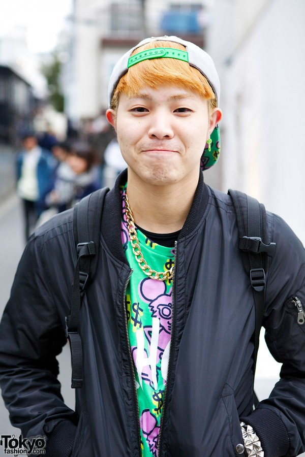 """Joyrich x Keith Haring """"Andy Mouse"""" t-shirt & cap"""