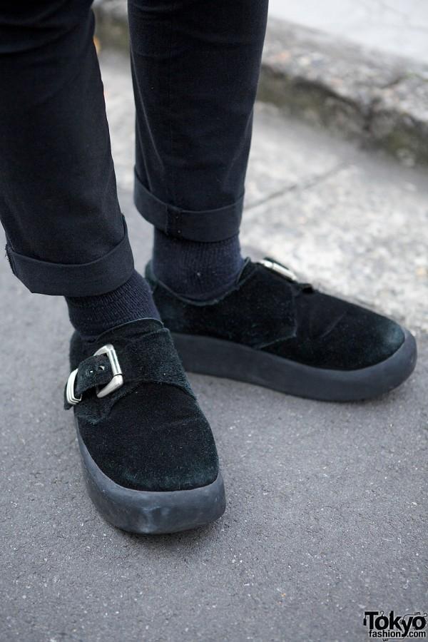 Tokyo Bopper Mens Buckle Shoes