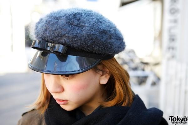 Bow Cap in Harajuku