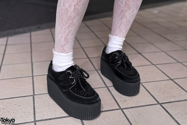 GVGV Creepers & Lace Tights