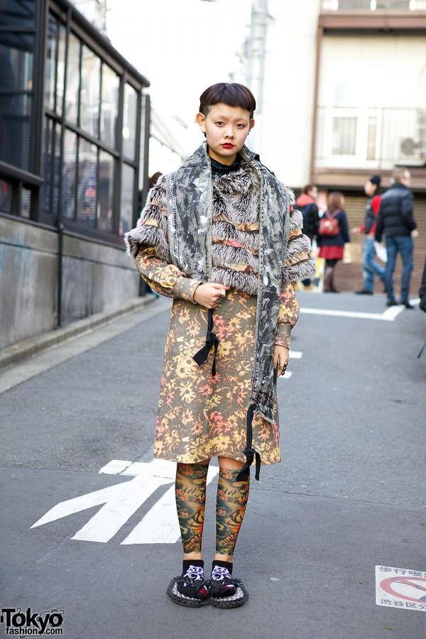 Harajuku Girl Resale Floral Dress