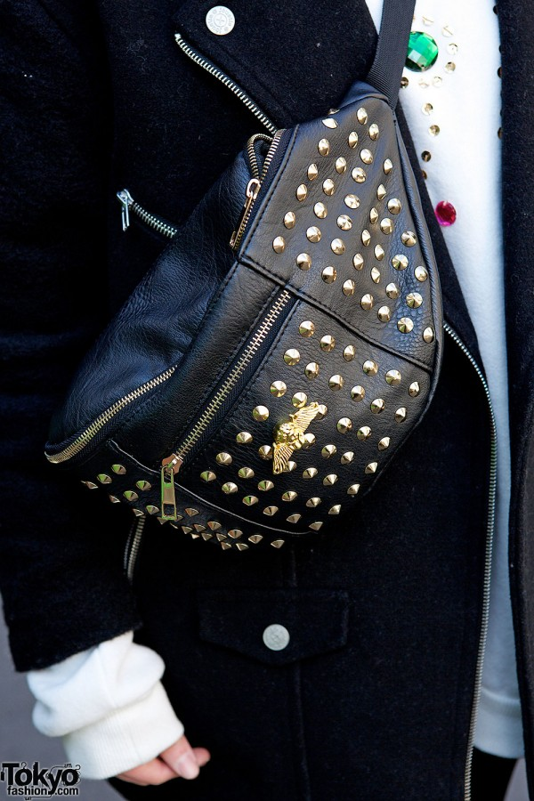 Love Drugstore Studded Fanny-Pack