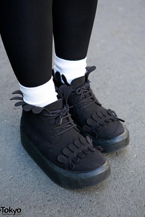 Tokyo Bopper Scallop Shoes