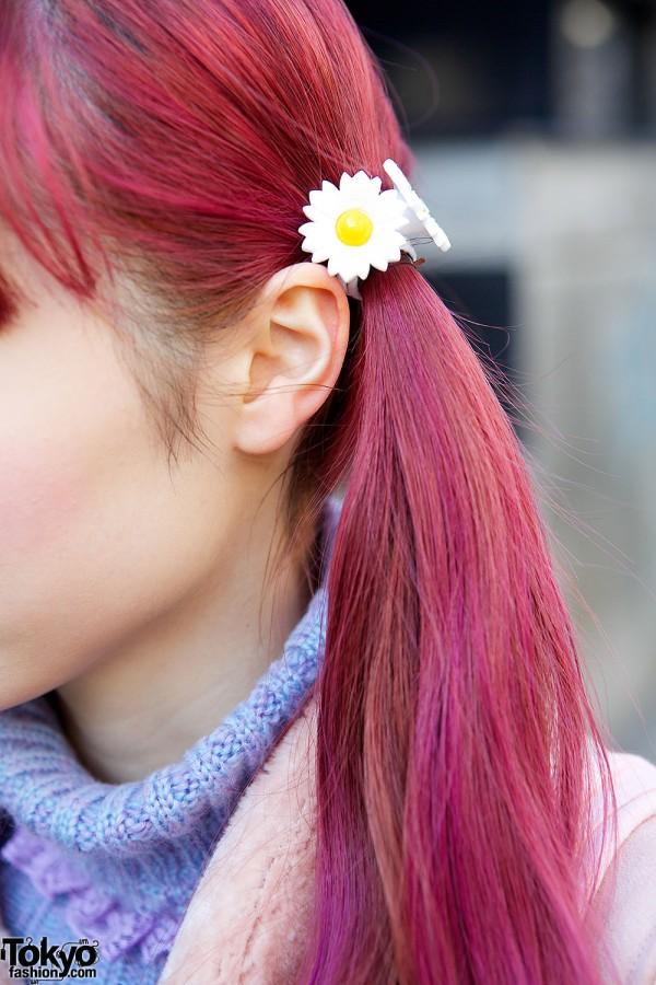 Daisy Hair Ties