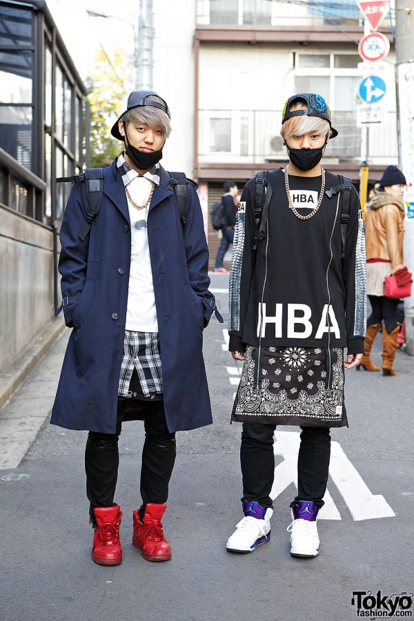 Masked Harajuku DJs w/ KTZ, Hood by Air, Jeremy Scott & Black Skull