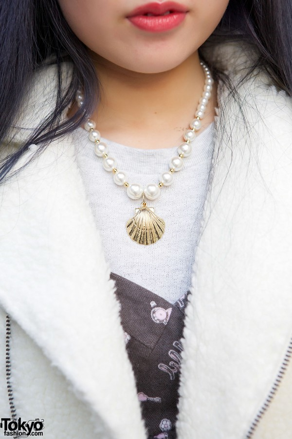 Me Seashell Necklace