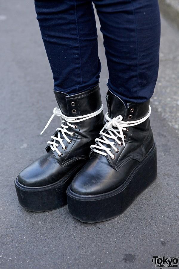 Nadia Harajuku Platform Boots