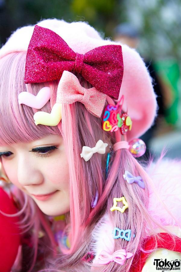 Pink Beret & Bows