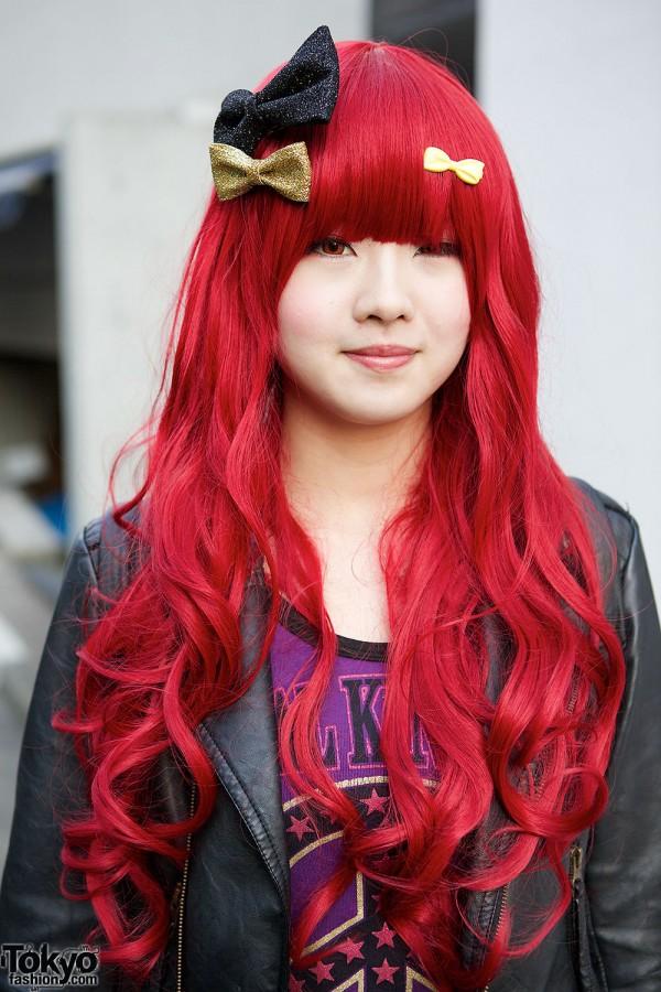 Red Haired Harajuku Girl